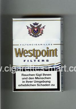 Westpoint (german version) (design 2) (Filters / Filter Cigarillos) ( hard box cigarettes )