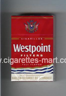 Westpoint (german version) (design 2) (Filters / Full Flavor / Cigarillos) ( hard box cigarettes )