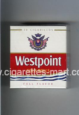 Westpoint (german version) (design 2) (Gold Rolls / Full Flavor) ( hard box cigarettes )