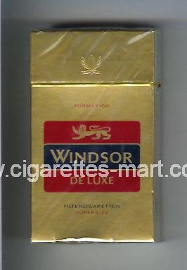 Windsor (german version) (De Luxe) ( hard box cigarettes )