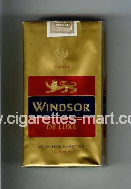 Windsor (german version) (De Luxe) ( soft box cigarettes )
