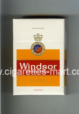 Windsor (german version) (Extra Leicht / Filter) ( hard box cigarettes )