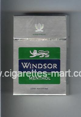 Windsor (german version) (Menthol) ( hard box cigarettes )