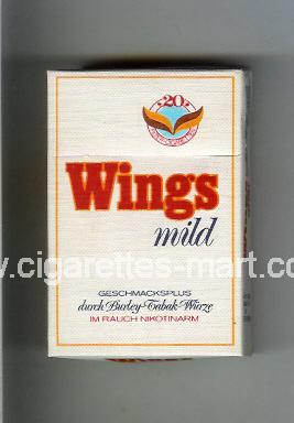 Wings (german version) (Mild) ( hard box cigarettes )