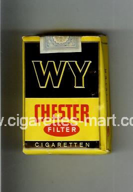WY Chester (design 1) (Filter) ( soft box cigarettes )
