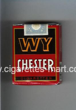 WY Chester (design 1) ( soft box cigarettes )
