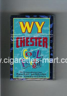WY Chester (design 2) (Cool Fresh) ( hard box cigarettes )