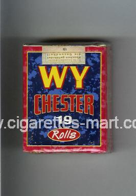 WY Chester (design 2) (Rolls) ( soft box cigarettes )
