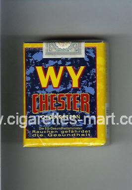 WY Chester (design 2) ( soft box cigarettes )