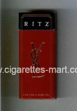 YSL (design 1) Ritz ( hard box cigarettes )