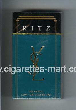 YSL (design 1) Ritz (Menthol) ( hard box cigarettes )