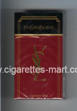 YSL (design 1) Yves Saint Laurent ( hard box cigarettes )