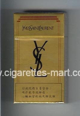 YSL (design 3) Yves Saint Laurent ( hard box cigarettes )