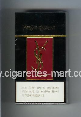 YSL (design 4) Yves Saint Laurent ( hard box cigarettes )