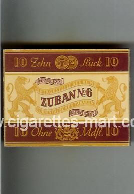 Zuban (design 4) No 6 ( box cigarettes )